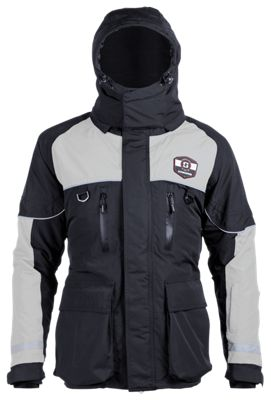 Striker Ice Climate Series Jacket - Gray/Black - M