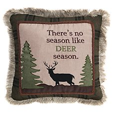 Bob Timberlake Deer Season Throw Pillow