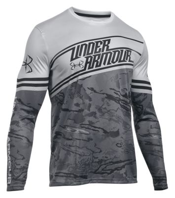 Under armour fishing jersey shirt for men bass pro shops for Fishing stores nj