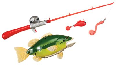 Small world toys catch of the day toy fishing game for for Bass pro shop fishing games
