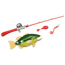 Small World Toys Catch of the Day Toy Fishing Game for Kids