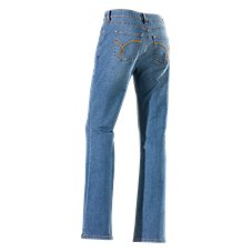 Natural Reflections Slim Bootcut Jeans for Ladies