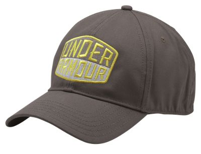 Under Armour Patch Stretch Fit Cap for Men – Fresh Clay/Lima Bean – L/XL