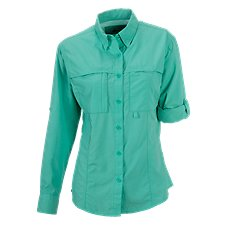World Wide Sportsman Solid Sannibel II Shirt for Ladies
