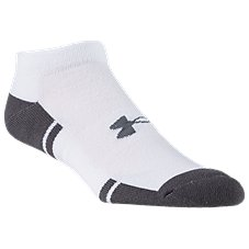 Under Armour Resistor 3.0 Lo Cut Training Socks for Men - 6-Pair Pack