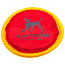 Playhound Lets Play Nylon Flying Disc Dog Toy