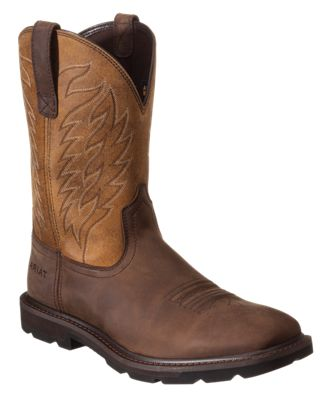 Buy the Timberland PRO Grierson Steel Toe Work Boots for Men - Brown and more quality Fishing, Hunting and Outdoor gear at Bass Pro Shops.