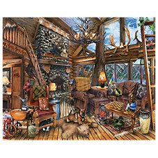Springbok The Hunting Lodge 1000-Piece Jigsaw Puzzle