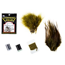 White River Fly Shop Masters Woolly Bugger Fly Tying Kit Image