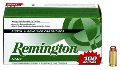 Remington UMC Handgun Ammo – .38 Super Auto +P – 130 Grain