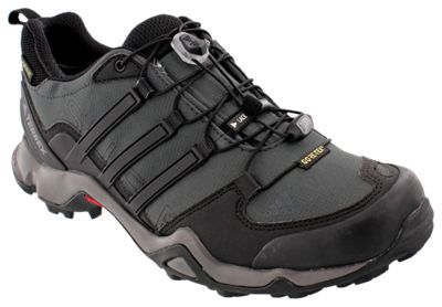 adidas outdoor Terrex Swift R GTX GORE TEX Hiking Shoes for Men Dark Grey  Black Granite 9M 638db587090
