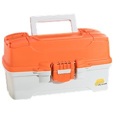 Plano Ready Set Fish 2-Tray Tackle Box for Kids
