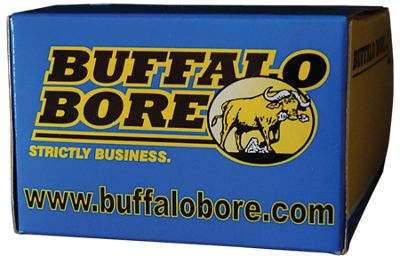 Buffalo Bore Centerfire Handgun Ammo - .44 Remington Magnum - 340 Grain - 20 Rounds thumbnail