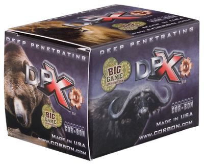 Click here to buy Cor-Bon DPX Centerfire Rifle Ammo.