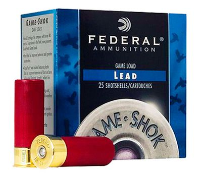 Click here to buy Federal Game-Shok Upland High Brass Shotshells.