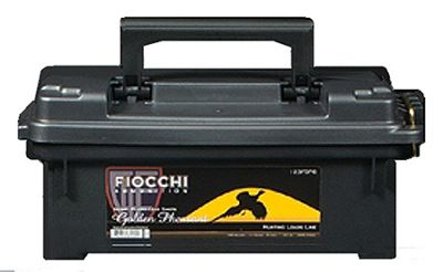 Fiocchi Golden Pheasant Load Shotshells with Plano Ammo Can