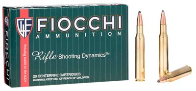 Fiocchi Shooting Dynamics Centerfire Rifle Ammo  by