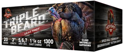 HEVI Shot Triple Beard Shotshells 12 Gauge 5