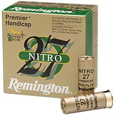Remington Premier Handicap Nitro 27 Target Load Shotshells