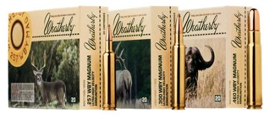 Weatherby Centerfire Rifle Ammo – .257 Weatherby Magnum – 120 Grain – 20 Rounds
