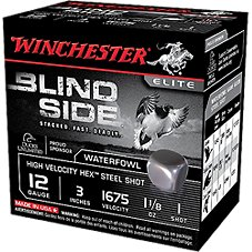 Winchester Blind Side High-Velocity Steel Waterfowl Load Shotshells