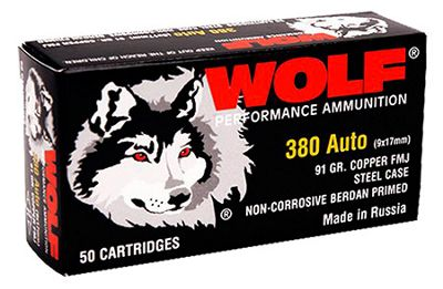 Wolf Performance Handgun Ammo - 9mm Luger - 115 Grain - 800 Rounds thumbnail