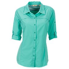 Ascend Ripstop Button-Up Shirt for Ladies