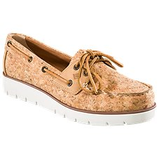 Sperry Azur Cora Cork Boat Shoes for Ladies