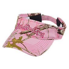 Bass Pro Shops TrueTimber Conceal Pink Visor for Kids