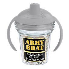 Tervis Tumbler My First Tervis Army Brat Sippy Cup with Lid