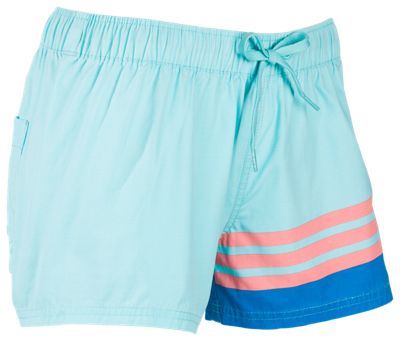 8de32b7181 These quickdrying women's shorts feature a featherweight feel that  eliminates chafing and rashes, an elastic drawstring waist, ...