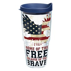 Tervis Tumbler Home of the Free Insulated Wrap with Lid Image