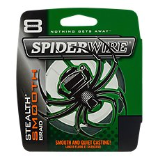 Spiderwire Stealth Smooth Braided Line
