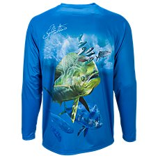 World Wide Sportsman Dorado Print Long-Sleeve T-Shirt