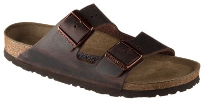 Birkenstock Arizona Soft Footbed Sandals for Ladies Habana Oiled 39M