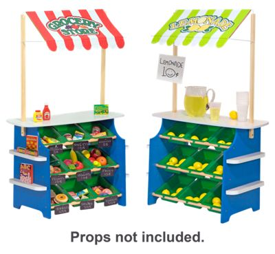 Melissa & Doug Grocery Store/Lemonade Stand Wooden Play Center