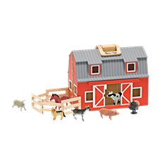 Melissa & Doug Fold & Go Play Barn