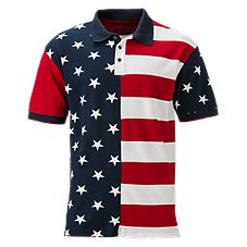 RedHead Stars and Stripes Polo for Men