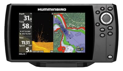 Humminbird helix 7 chirp di gps g2 fishfinder and for Bass pro shop fish finders