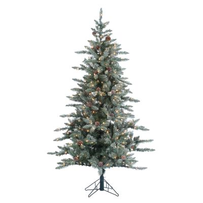 6 lightly flocked mckinely pine artificial christmas tree with clear lights image httpsbassproscene7comisimagebasspro2362817_175248_is