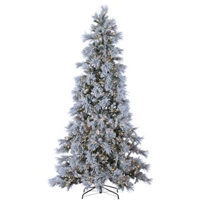 ... '3074457345616676768',langId: '-1'}, {id: '', name: 'Sterling 9' LED Flocked Snowbell Pine Artificial Christmas Tree with Twinkling White Lights', ...