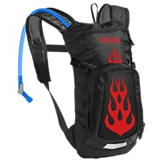 CamelBak Mini M.U.L.E. Hydration Flames Pack for Kids