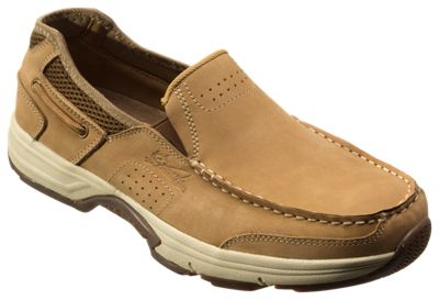 110d26c5dfdcc World Wide Sportsman Newport II Slip On Boat Shoes for Men Dark Taupe 12M