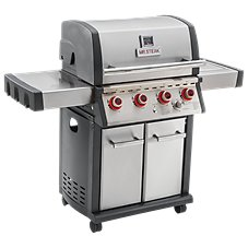 Mr. Steak 4-Burner Propane Grill with Side Burner and Infrared Burner