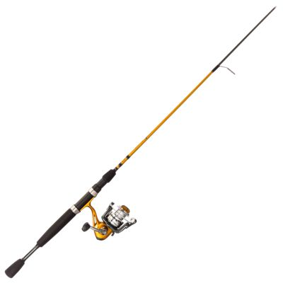 Bass pro shops crappie maxx spinning rod and reel combo for Bass pro fishing reels