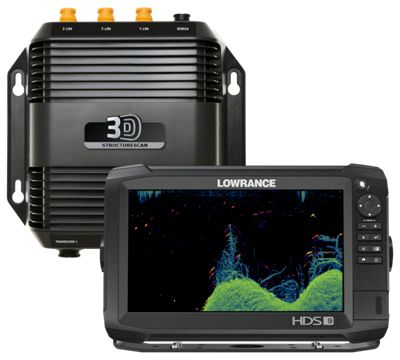 Lowrance HDS 9 Carbon Fishfinder GPS Chartplotter Combo with
