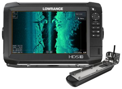 Lowrance hds 9 carbon fishfinder gps chartplotter combo for Bass pro shop fish finders