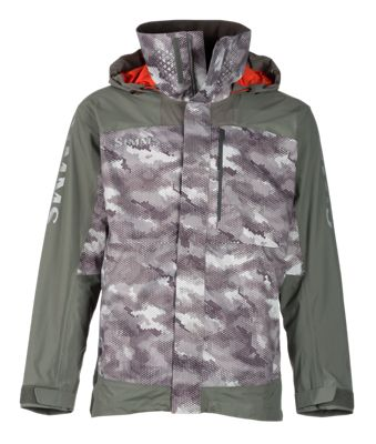 Simms Challenger Jacket for Men – Hex Camo – L