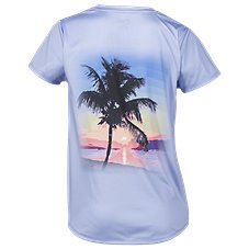 World Wide Sportsman Sublimation V-Neck T-Shirt for Ladies