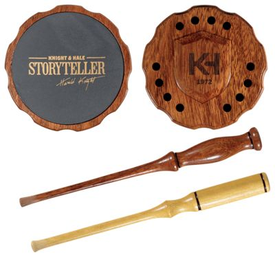 Knight & Hale Storyteller Slate Friction Turkey Call